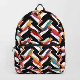 herringbone penguin Backpack