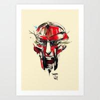 doom Art Prints featuring DOOM by chuma hill