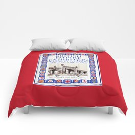 1924 British Empire Exhibition Wembley London Comforters