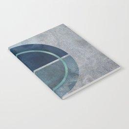 Magic Blue Circle Notebook
