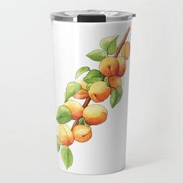 Apricot Branch Travel Mug