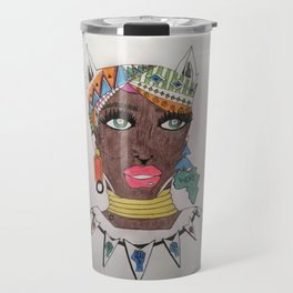 The Black Panther is Female Travel Mug