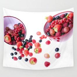 Fresh berries Wall Tapestry