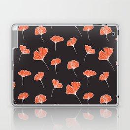 Ginkgo Biloba Leaves Pattern Dark #society6 #decor #buyart Laptop & iPad Skin