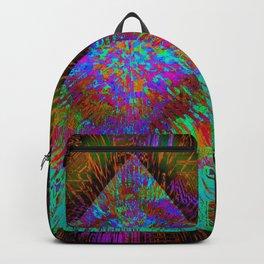 Green Pyramid Landing Backpack