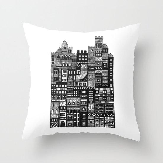 Castle Infinitus Throw Pillow
