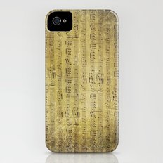 Music is what feelings sound like iPhone (4, 4s) Slim Case