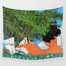 The fox and the Little Prince Wall Tapestry
