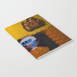 Inside Dig Dug Notebook
