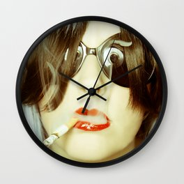 Ignited Wall Clock