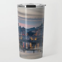 Saint Peter's Basilica at Sunset Travel Mug