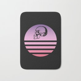 Classic Retro Design Skull #7 Bath Mat