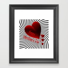 Valentine's Day -4- Framed Art Print