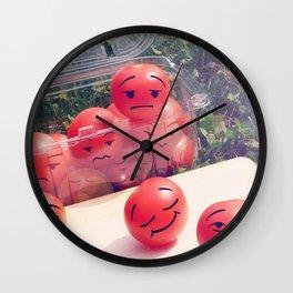 Breathe The Fresh Air Wall Clock