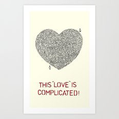Complicated Art Print