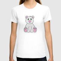polar bear T-shirts featuring Polar Bear by BlackBlizzard