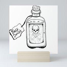 Self Doubt Mini Art Print