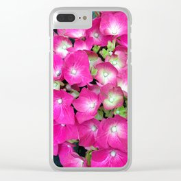 Hot Pink Clear iPhone Case