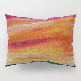 Peach Skyscape Pillow Sham