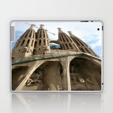 Work in Progress (La Sagrada Familia) Laptop & iPad Skin