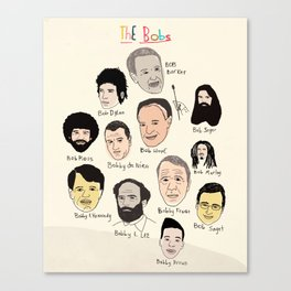 The Bobs Canvas Print