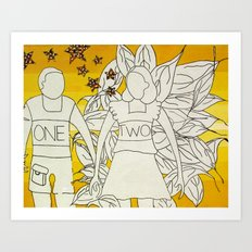 OneTwo Art Print