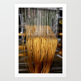 The Heddles Art Print