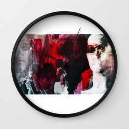 """You were born for this Clarke. Same as me."" Wall Clock"