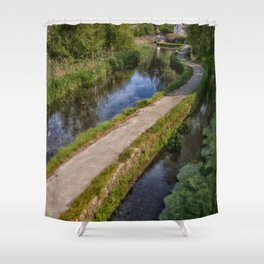 Causeway To The Chequers Shower Curtain