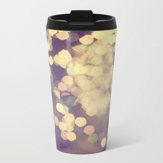 festive Metal Travel Mug