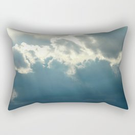 Streaks In The Clouds Rectangular Pillow