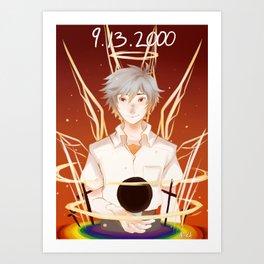 Evangelion--Second Impact Art Print