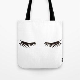 Eyelash Tote Bag