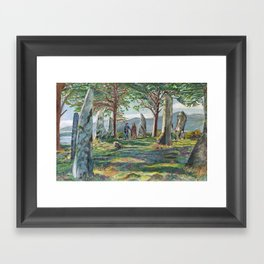 Craigh na dun (Outlander) Framed Art Print