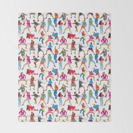Dance, Dance, Dance! Throw Blanket