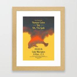 Probo Titans / Rumour Cubes Poster Framed Art Print