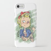 rockabilly iPhone & iPod Cases featuring Rockabilly by KMie.