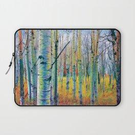 Aspen Trees in the Fall Laptop Sleeve
