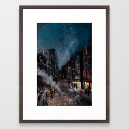 Meatpacking District Framed Art Print