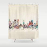 colorado Shower Curtains featuring denver colorado  by bri.buckley