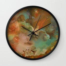 Carina Nebula Wall Clock