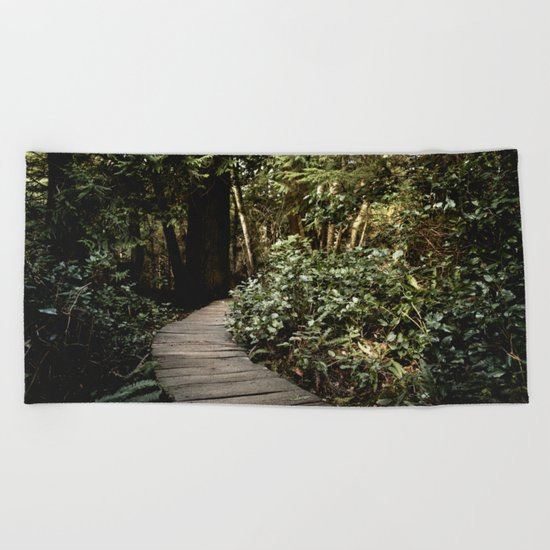 Path to Happiness Beach Towel