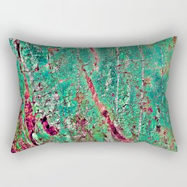 GREEN ARCHETYPAL POETRY Rectangular Pillow