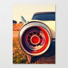 T-Bird taillight Canvas Print