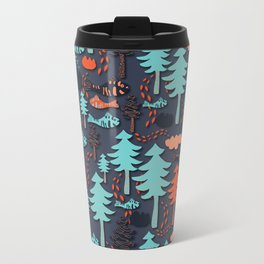 Fishes in the wood Travel Mug