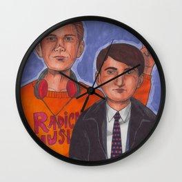 Mark & Jeremy Wall Clock