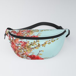 Japanese quince tree #2 Fanny Pack