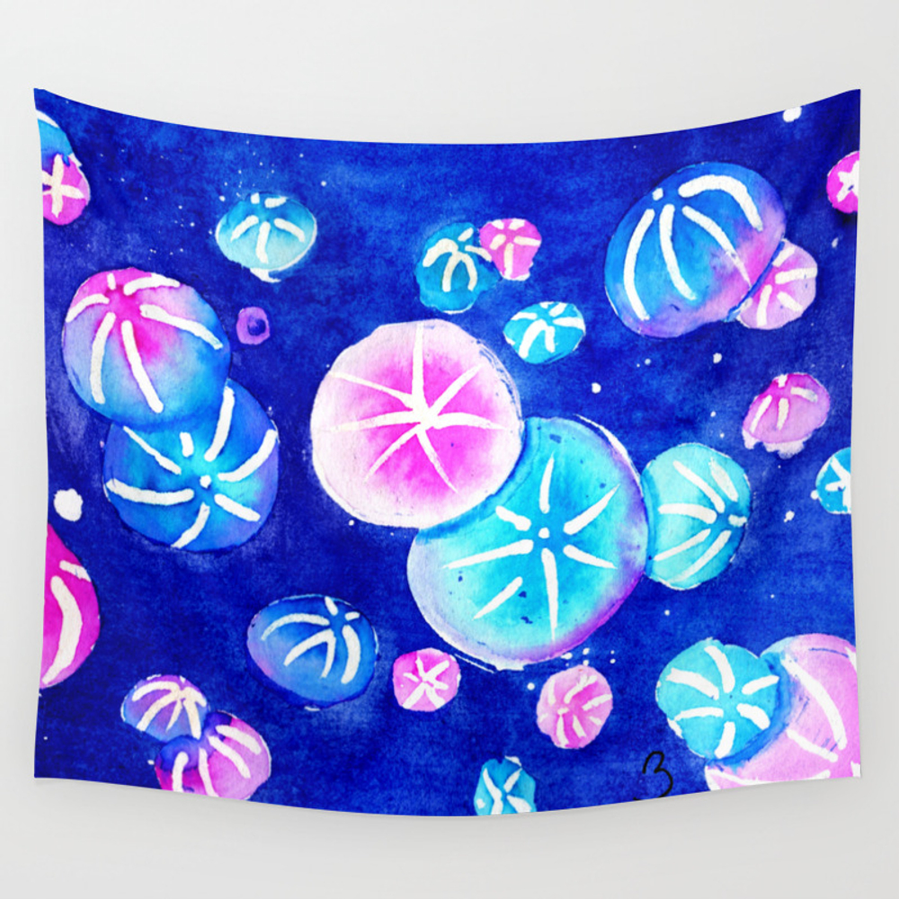 Comb Jelly Cluster Wall Tapestry by Aertidoll TPS3628210