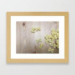 Farfalle Framed Art Print