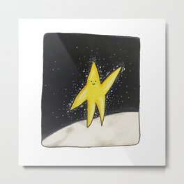 Little Star Man No.1 Metal Print
